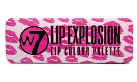 1 o 2 palette di 12 rossetti W7 Lip Explosion