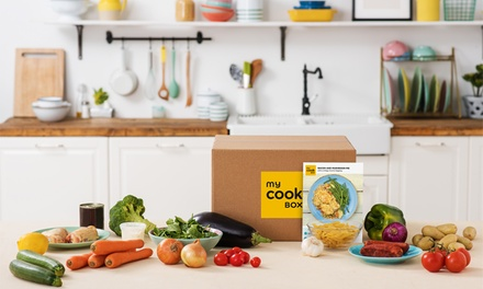 Recipe and Ingredients Box subscription with Three Meals for Two or Four from MyCookBox (48% Off)