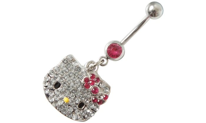 Belly Bar Bling Fashion Jewelry Body Jewelry