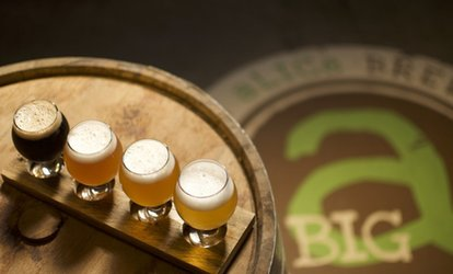 Big aLICe Brewing Package for Two or Four at Big Alice Brewing (Up to 51% Off)
