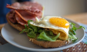 Crisp CBD: Breakfast or Brunch with Juice for One ($7) or Two People ($13) at Crisp CBD (Up to $23 Value)