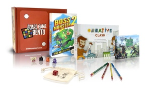 Board Game Bento: $31 for a One-Month Board Game Subscription from Board Game Bento ($50 Value)