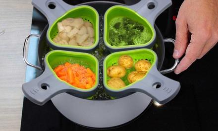 Cuoci verdure in silicone