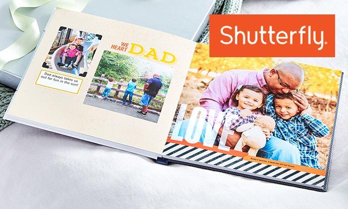 quality design 0e3d7 063d8 Custom Hard Cover Photo Books - Shutterfly | Groupon