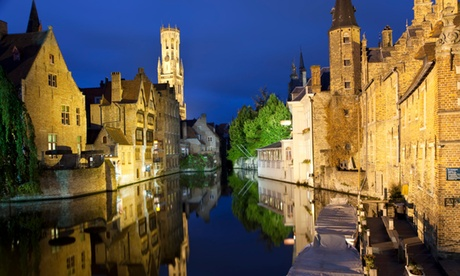 ✈Ámsterdam, Bruselas y Brujas: 7 noches para 1 en habitación doble, vuelo de I/V y billete de tren con hotel a elegir