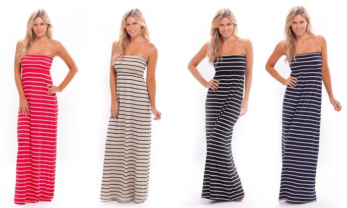 Womens Maxi Dresses 2 Pack Groupon Goods