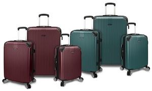 Traveler's Choice Austin Hardside Spinner Luggage Set (3-Piece)