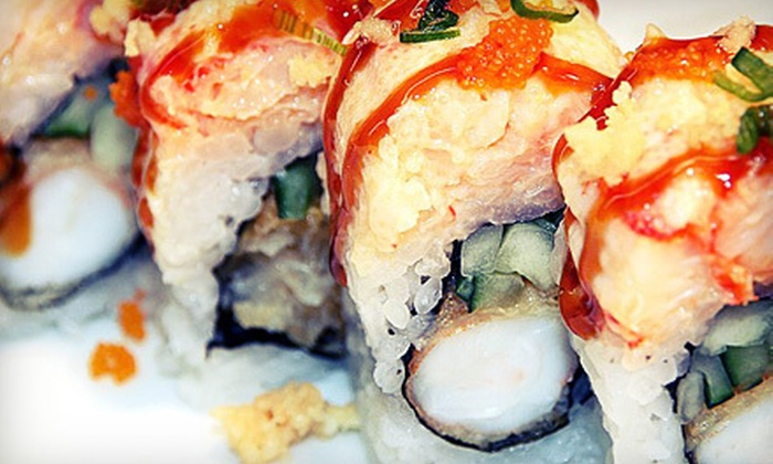 M Sushi Bar - Glendale: $20 for $40 Worth of Japanese Cuisine at M Sushi Bar in Glendale