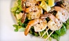 The Grill on Broadway - Broadway: $15 for $30 Worth of New American Grill Food and Drinks at The Grill on Broadway