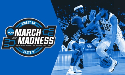 2019 NCAA Men's March Madness Basketball – West Regional on March 28 or 30