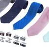 Men's Ties & Cuff Links Accessory Set (7-Piece)