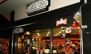 El Viejo Torino: Desde $159 por empanadas + pizza grande a elección + cerveza o gaseosa para dos o cuatro en El Viejo Torino