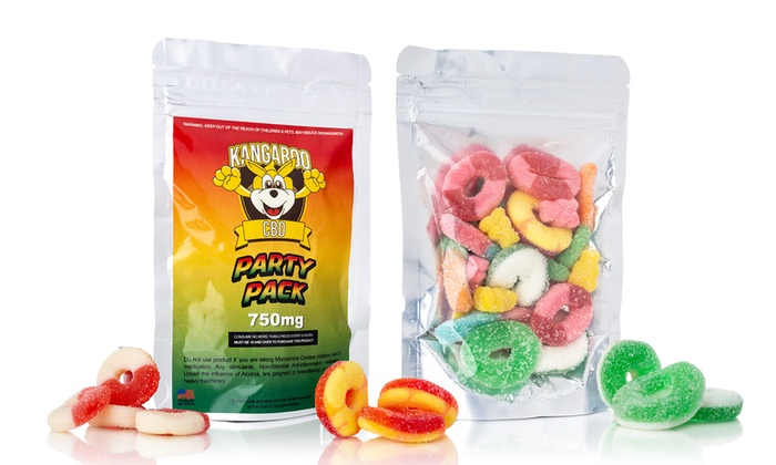 Up To 79% Off on CBD Gummies from Kangaroo CBD | Groupon Goods