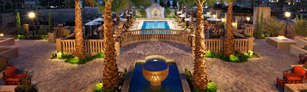 Luxurious, Spanish-Style Hotel in New Mexico