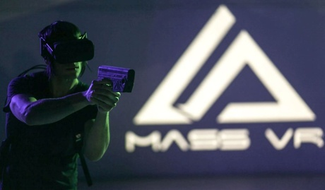 Virtual Reality Battle Arena for One, Two, Four, or Eight People at Mass VR (Up to 31% Off) 9f8482f9-c241-4afe-83fb-c4613fe53256