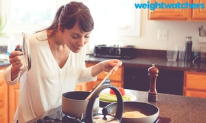 Weight Watchers Canada: Three Months of Weight Watchers Canada Online with Optional Weekly Meetings In Person (Up to 52% Off)