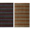 Colorful Scalloped Wave Area Rugs