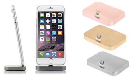 Base de carga plana para iphone