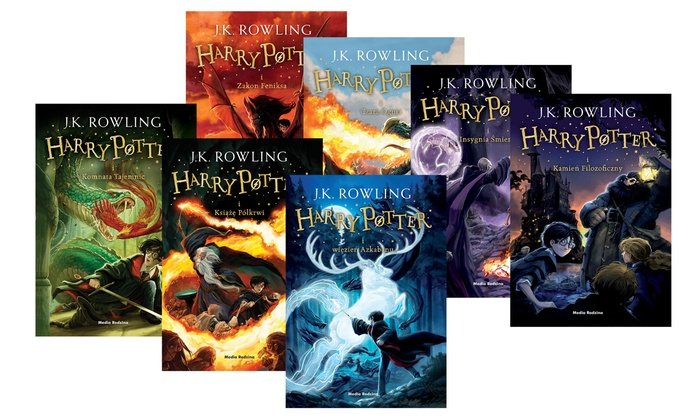 Harry Potter: tomy 1-7 | Groupon