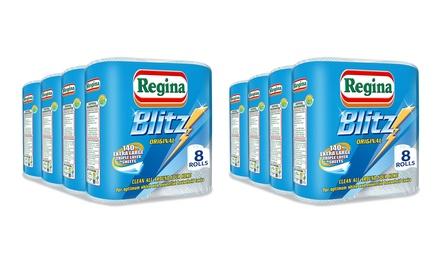 8 Regina Blitz Towel Rolls