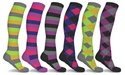 3-pair DCF Patterned Compression Socks