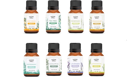 Nature Spell Luxury Collection of Eight Essential Oils 10ml