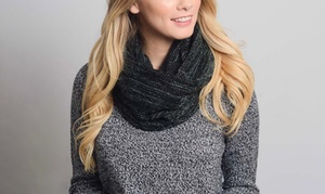 Zoejin Women's Marled Snood