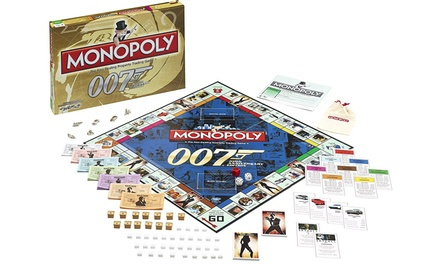 monopoly spiel james bond 007 groupon goods. Black Bedroom Furniture Sets. Home Design Ideas