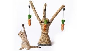 Poteau griffoir pour chat