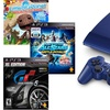 250GB Azurite-Blue PS3 with 3 Games
