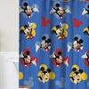 Disney Shower Curtain & Bath Mat Set