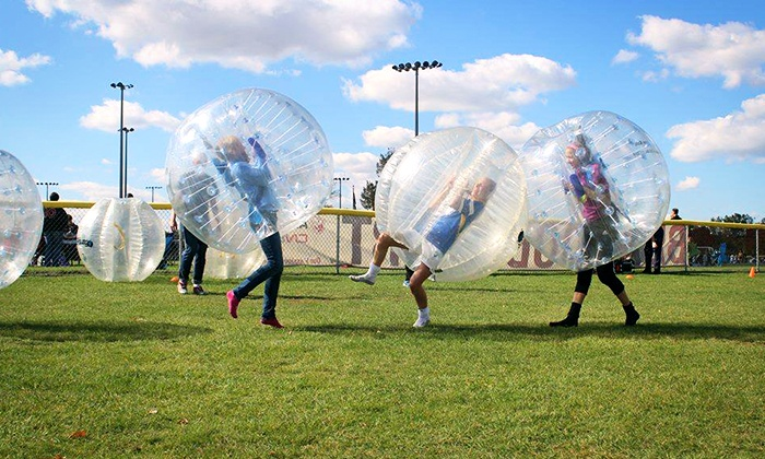 Battle Balls - Near North Side: One Hour of Bubble Soccer for Up to Four or Five on Saturday, August 29, Hosted by Battle Balls (Up to 47% Off)