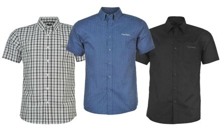 Pierre Cardin Short-Sleeved Shirt in Choice of Colour