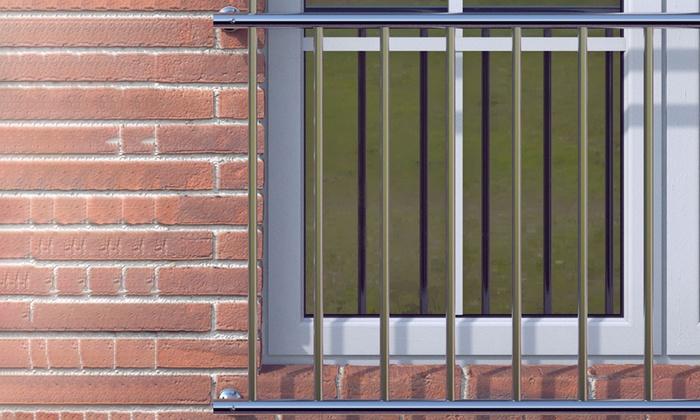 balustrade de balcon groupon. Black Bedroom Furniture Sets. Home Design Ideas