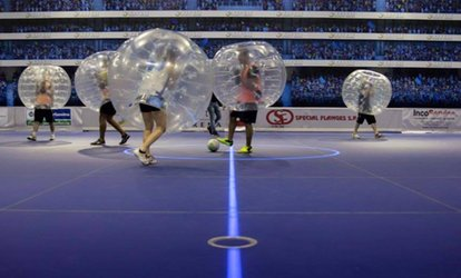 Esperienza di Bubble Soccer con 2 partite e briefing all'ASD Bubble Soccer Brianza (sconto 60%). Valido in 3 sedi
