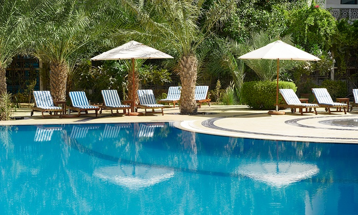 Aqua Club at Le Royal Meridien Abu Dhabi - Abu Dhabi: Pool Pass with Optional Drink Packages at Le Royal Meridien Abu Dhabi (Up to 65% Off)