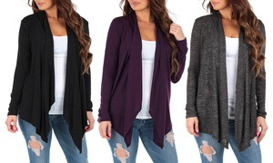 Hacci Women's Draped Cardigans (2-Pack)