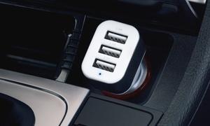 Chargeur de voiture rapide USB à 3 ports