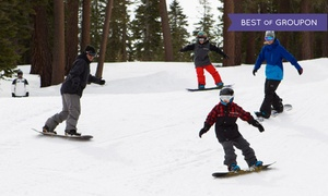 Raging Buffalo: Snowboarding Packages or Skiing at Raging Buffalo (Up to 66% Off). Three Options Available