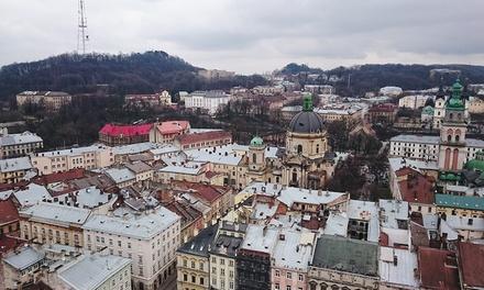 Powitanie Nowego Roku 2017 we Lwowie