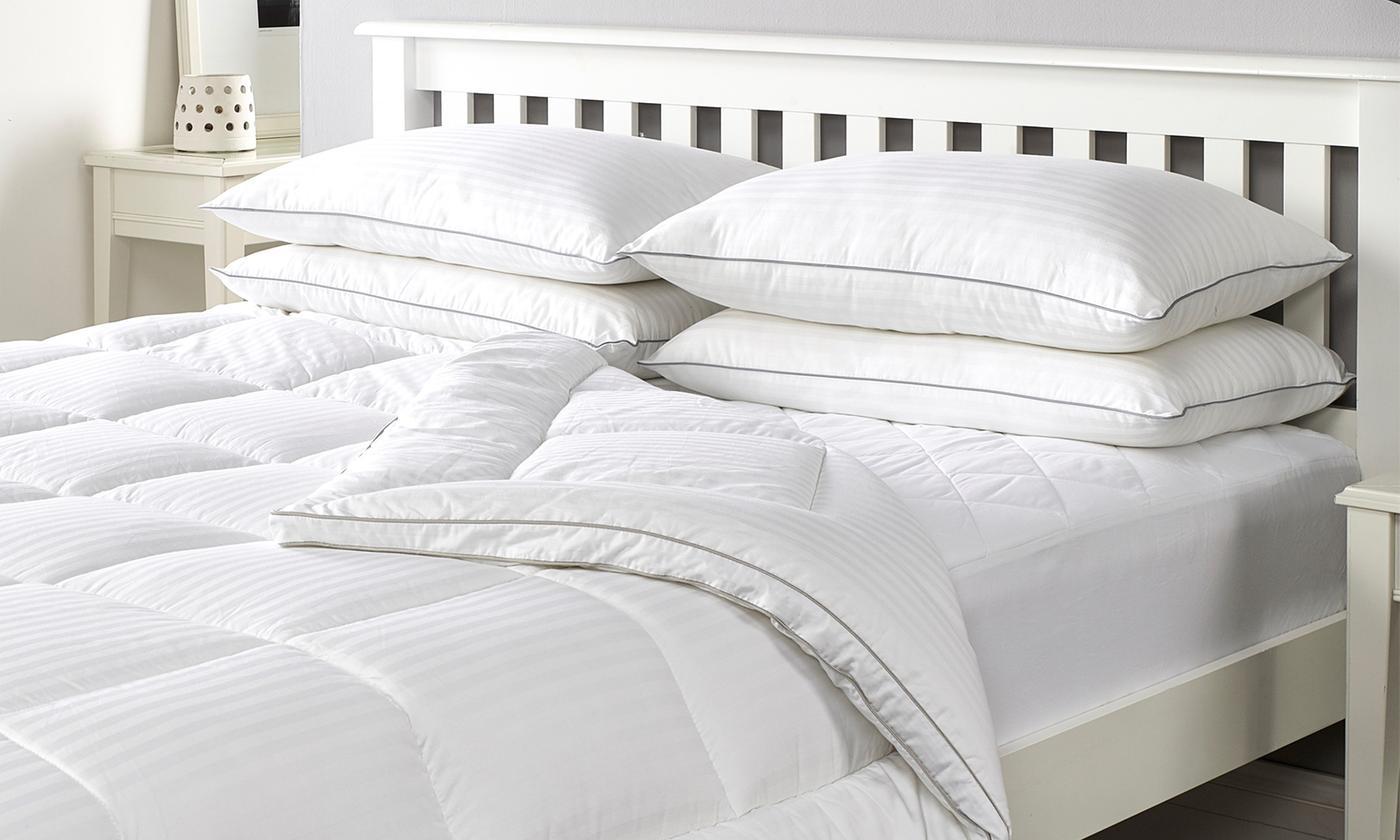 Downland Bedding 300TC Hotel Duvet or Pillows
