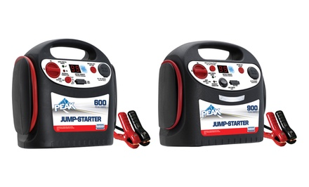 600- or 900-Amp Auto Battery Jump Starters