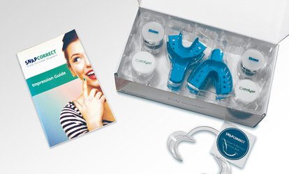 image for At-Home Impression Kit for Truly Invisible Aligners Plus $150 Off Aligners from SnapCorrect (92% Off)