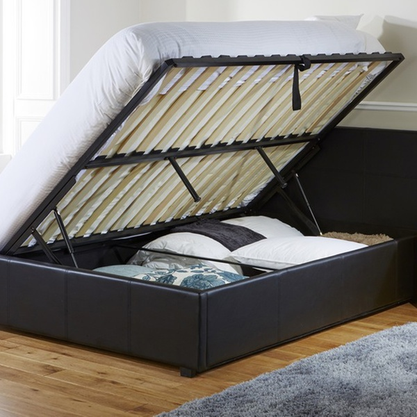 Astonishing Ottoman Bed Frame From 119 99 With Memory Or Bonnell Mattress From 209 99 With Free Delivery Up To 52 Off Creativecarmelina Interior Chair Design Creativecarmelinacom