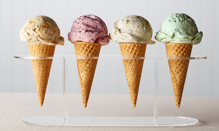 $12 for Five Regular-Size Ice-Cream Cones at Serendipity Ice Cream ($17.50 Value)