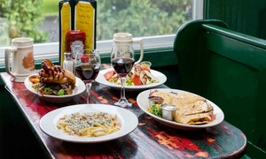 Pattaconk 1850 Bar and Grille: Pub Food at Pattaconk 1850 Bar and Grille (Up to 50% Off)