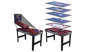 Table multi-jeux complète 12 en 1