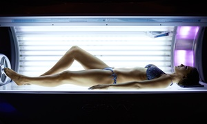 One Session in Each of 5 UV Levels Plus 14 Days of Unlimited Redlight Techno at Darque Tan (Up to 91% Off)