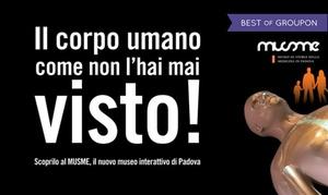 MUSME: Percorso interattivo alla scoperta del corpo umano per adulti e bambini presso il MUSME di Padova (sconto 25%)
