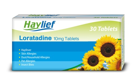 180 or 360 Loratadine Allergy and Hayfever Tablets